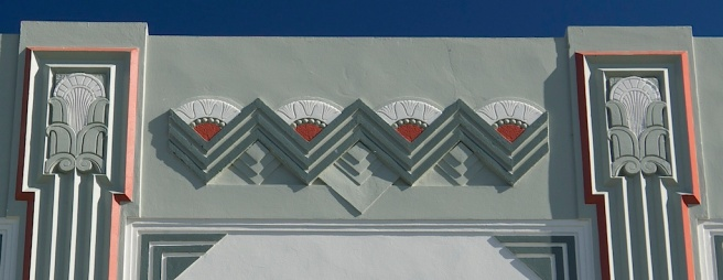 Napier - Art Deco detail as far as they eye can see. © Roger Garwood 2013