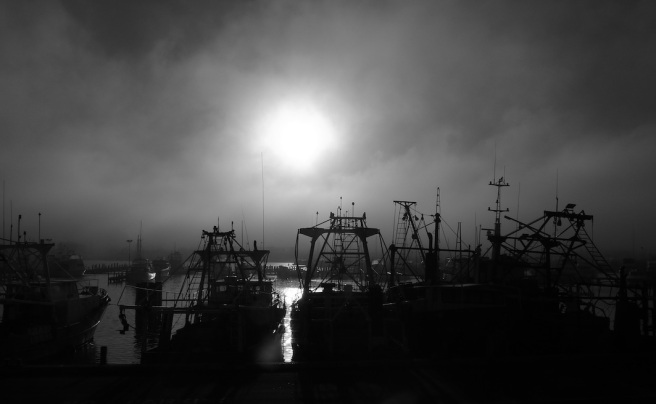 Fremantle Harbour Fog April 2012