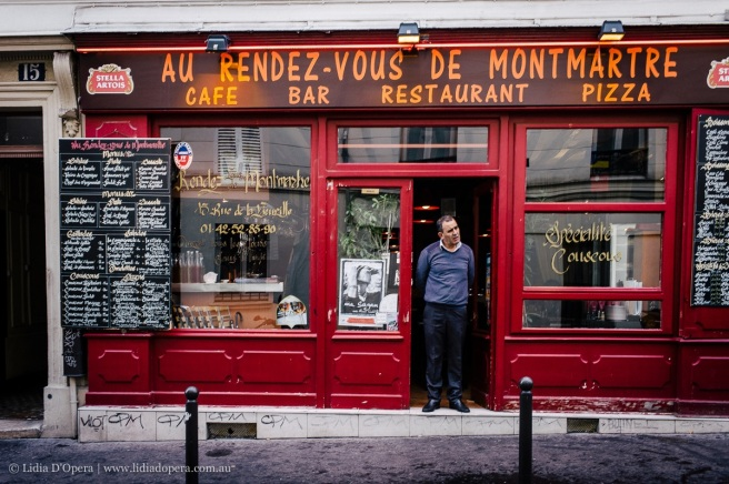 One of a number of Parisian shop fronts photographed by Lidia D'Opera. They display a stylish, appealing, shabby chic. A concept which could easily be emulated in Fremantle's West End. © Lidia D'Opera 2016